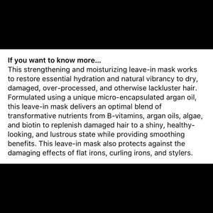 Sephora Makeup - BRIOGEO DON'T DESPAIR REPAIR LEAVE-IN HAIR MASK